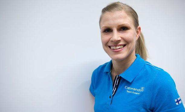 Saija Tarkki edusti Suomea Sotshin olympialaisissa.