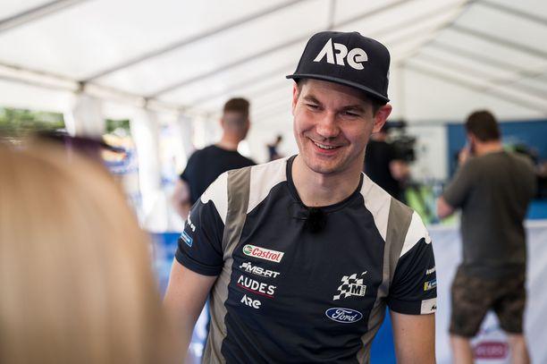 Teemu Suninen ajaa M-Sportin väreissä tällä kaudella.