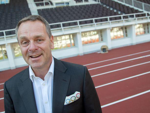 Jan Vapaavuori on Suomen olympiakomitean uusi puheenjohtaja.