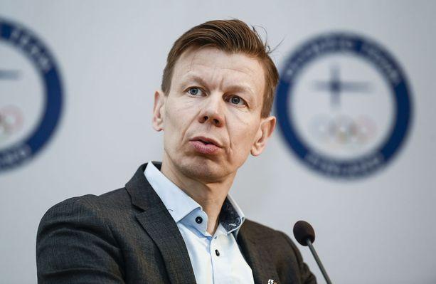 Mikko Salonen on Olympiakomitean toimitusjohtaja.