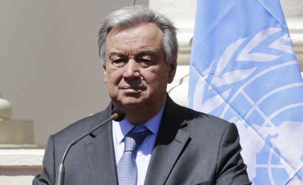 YK:n pääsihteeri Antonio Guterres esitti osanottonsa surmattujen YK-työntekijöiden omaisille.