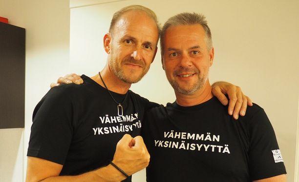 Olli Lipsanen perusti Voima-ryhmän ystävänsä Jyrki Mikkolan kanssa.