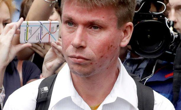 Lauri Love turhautui BBC:n juontajan tivaamiseen.