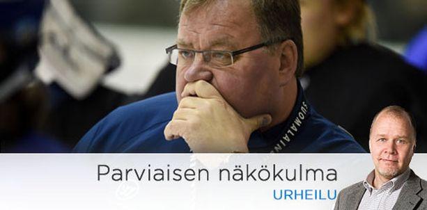 Hannu Jortikalla on ollut joukkueen pelissä pohtimista.