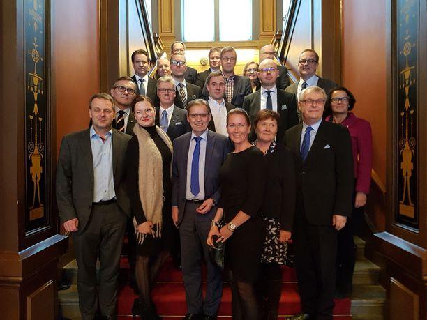Kaupunginjohtajat koolla Tampereella torstaina.