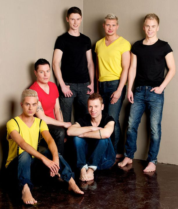 Tämä kuusikko mittelee Mr. Gay Finlandin tittelistä.