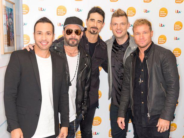 Backstreet Boys eli AJ McLean, Howie Dorough, Nick Carter, Kevin Richardson ja Brian Littrell.