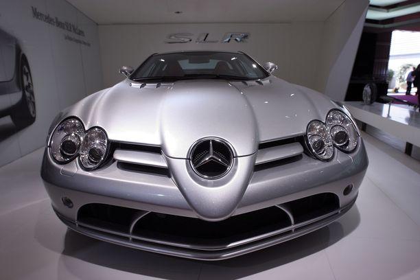 Mercedes SLR McLaren oli 2000-luvun alun superauto.