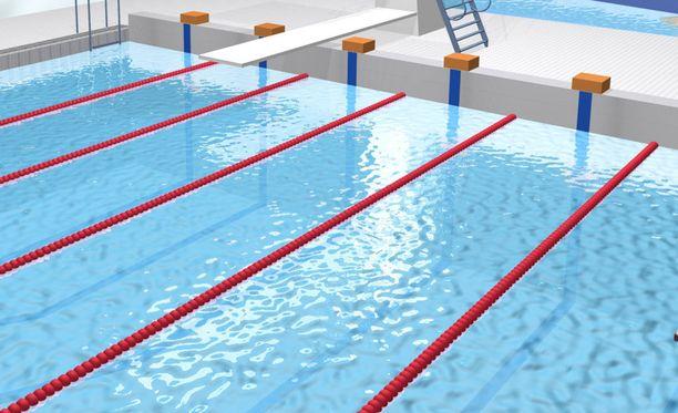Kuvituskuva. Kisa pidettiin Gold Coast Aquatic Centerissä, Queenslandissa.