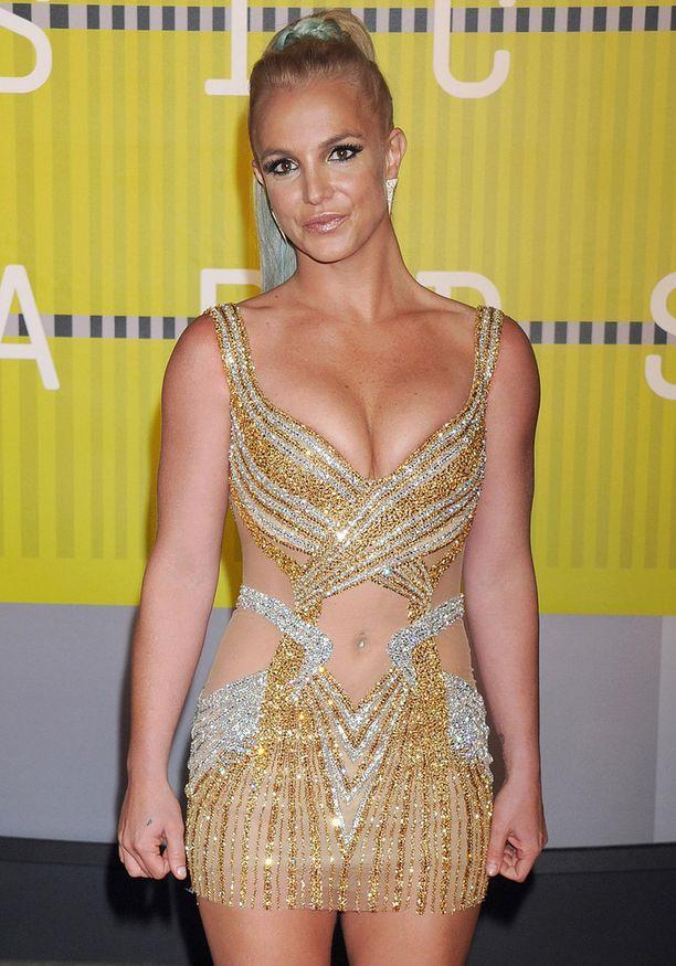 Britney Spears osallistui MTV Video Music Awardseihin myös viime syksynä.