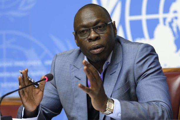 WHO:n Afrikan hätätilajohtaja Ibrahima Soce Fall puhui Madagaskarin ruttotilanteesta Genevessä viime perjantaina.