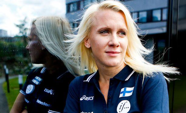 Sandra Eriksson onnistui Göteborgissa.