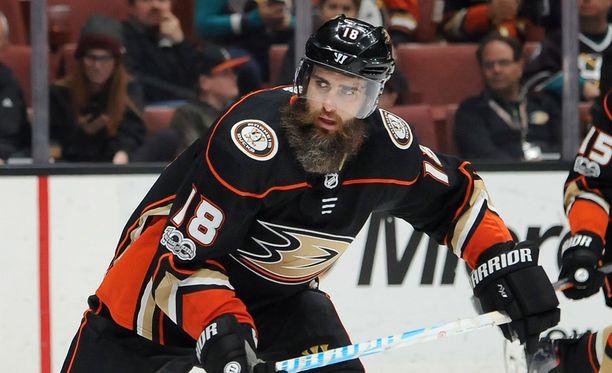 Patrick Eaves pystyi viime kaudella pelaamaan vain kahdessa NHL-ottelussa.