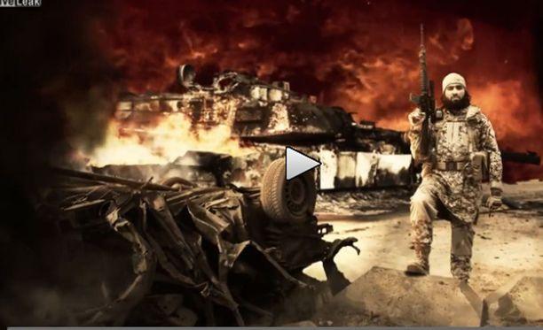 Isisin julkaisemalla videolla tyrmätään YK ja kosiskellaan uusia taistelijoita.