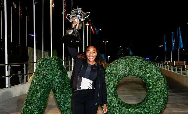 Serena Williams odottaa lasta.