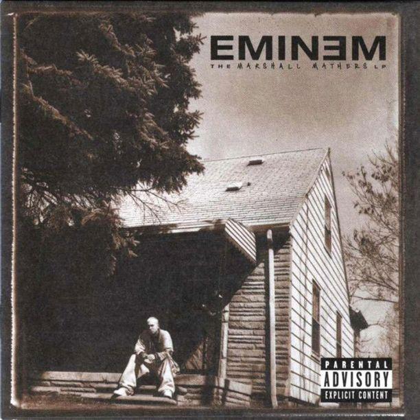 Eminem kuvautti lapsuudenkotinsa levynsä kanteen.