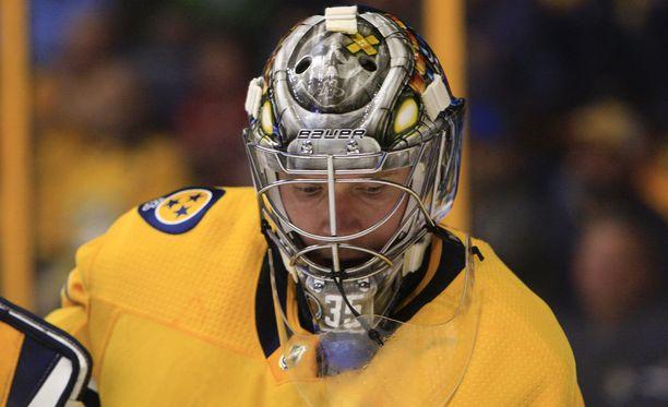Pekka Rinne kuuluu NHL:n huippumaalivahtien kastiin.