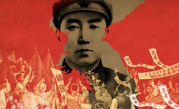 Näin Kim Il-sungia (1912-1994) on kuvattu aikana, jolloin hän taisteli armeijan riveissä. Sissinä hän nousi japanilaisia vastaan.