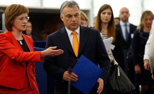 Viktor Orban sai tylyn vastaanoton.