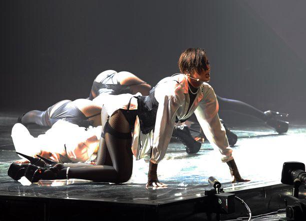 Maruvin lavashow jää Euroviisuissa näkemättä.