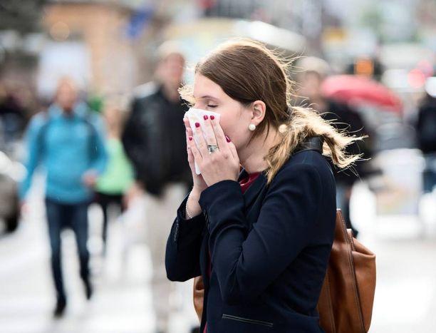 Influenssaepidemia riehuu jo koko maassa. Valtaviruksena on A(H1N1) eli sikainfluenssa.