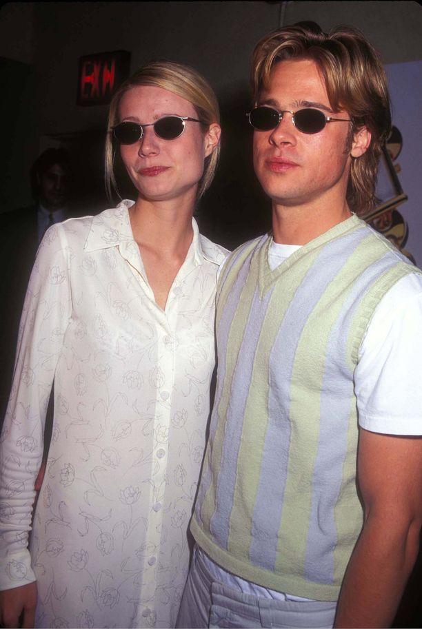 Gwyneth Paltrow ja Brad Pitt.