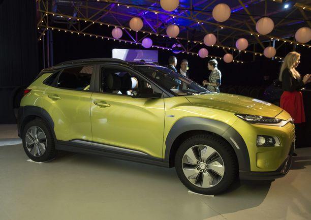Hyundai Kona, IL Vuoden sähköauto Suomessa 2019.