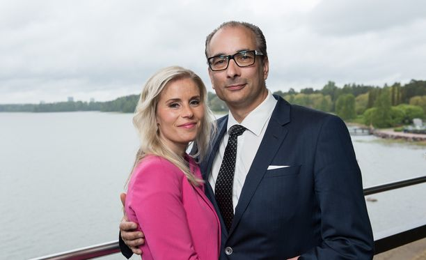 Hanna Kärpänen ja Heikki Lampela ovat vauhdikas pariskunta.