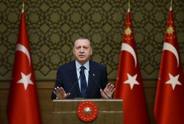 Recep Tayyip Erdogan tukahduttaa toisinajattelijat.