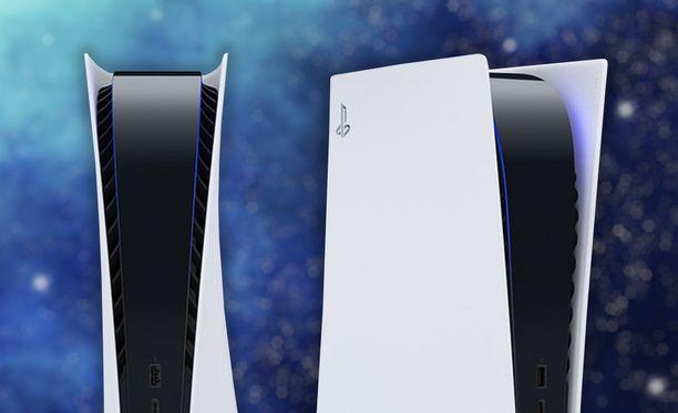 Playstation 5:n etupuolella näyttäisi olevan suuret tuuletusaukot.