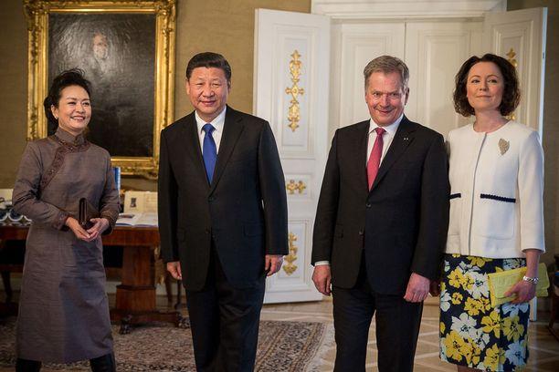 Presidentti Xi Jinping kävi viime keväänä jälleen Suomessa.