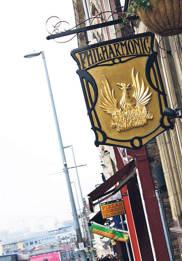 Philharmonic-pubi on oiva paikka nauttia paikallisia oluita.