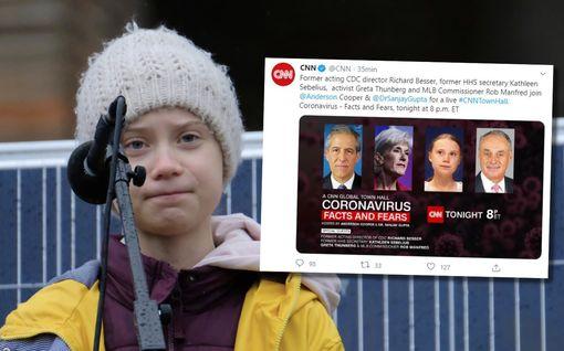 Greta Thunbergistä CNN:n koronavirusasiantuntija