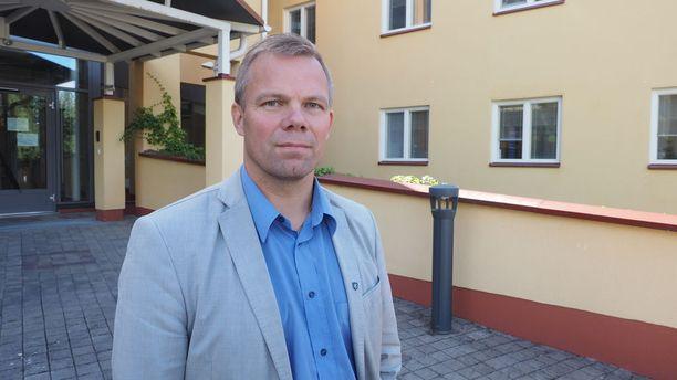 Kaupunginjohtaja Jarmo Pienimäki näkee Ähtärin tilanteen ja tulevaisuuden erittäin hyvänä.