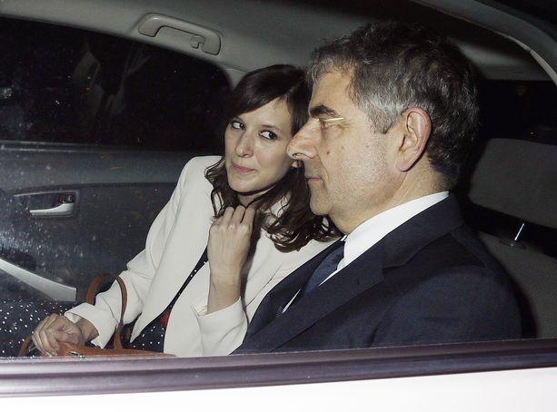 Louise Ford seurusteli vielä toisaalla, kun rakastui Mr. Beaninä tunnettuun Rowan Atkinsoniin.