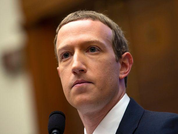 Facebookin perustaja Mark Zuckerberg kuvattuna lokakuussa 2019