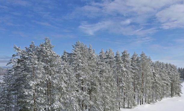 Välillä paistaa ja välillä sataa joko vettä tai lunta, kertoo Ilmatieteen laitos.