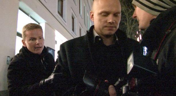 Ilari Sahamies kävi kuvaajan kameraan kiinni.