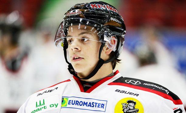 Jesperi Kotkaniemi ei yltänyt edes MM-leirille.