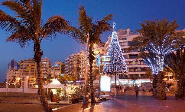 Jouluksi pääsisi vielä Gran Canarialle.