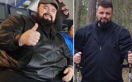 Tatu laihdutti 75 kiloa kotikonstein - tähtäimessä 100 kiloa
