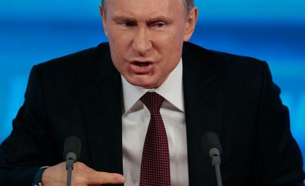 Presidentti Vladimir Putin puhui ensi kertaa terrori-iskujen jälkeen.
