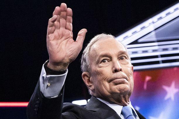 Mike Bloombergin vaaliväittely ei mennyt miehen toivomalla tavalla.