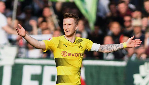 Marco Reus teki Dortmundin ainokaisen.