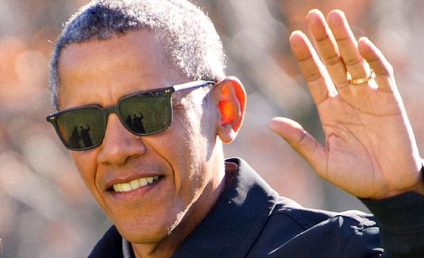Barack Obama on poistunut Valkoisesta talosta.