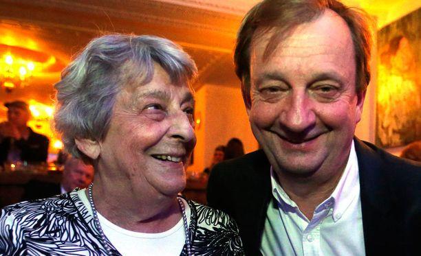 Doris Harkimo iloitsi poikansa läpimenosta, vaikka ehdokkuus pääsikin yllättämään.