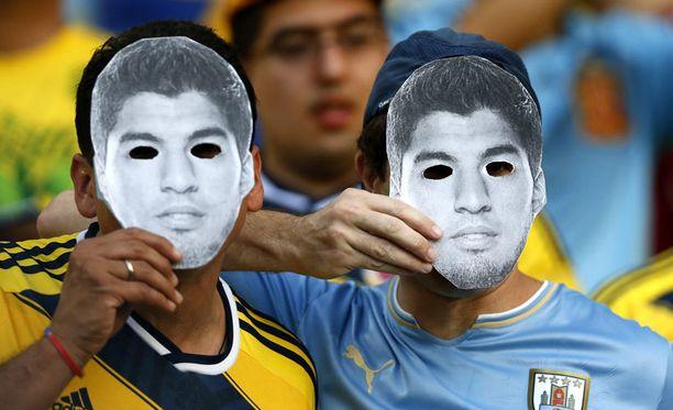 Luis Suarez nousi merkittäväksi ilmiöksi populaarikulttuurissa.