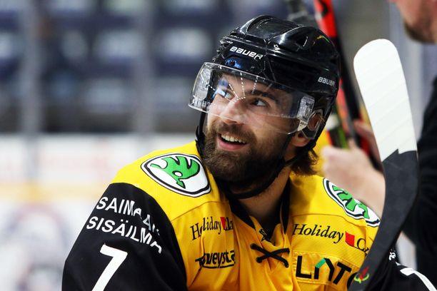 Mario Grman viihtyy Lappeenrannassa.