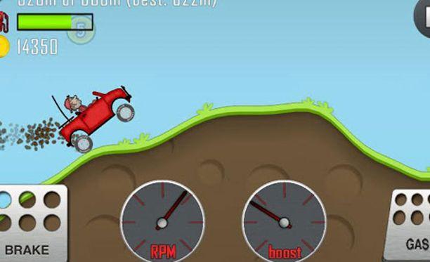Hill Climb Racing -peliä on ladattu noin 200 miljoonaa kertaa.