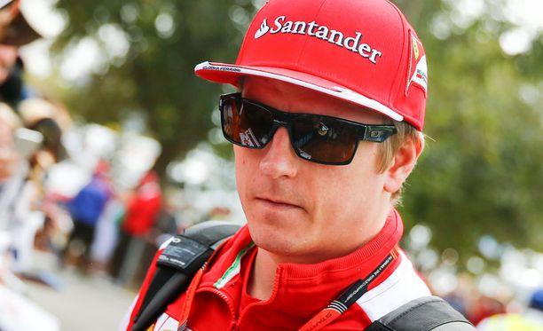 Kimi Räikkönen kaasutteli perjantaina neljänneksi nopeimman kierrosajan.